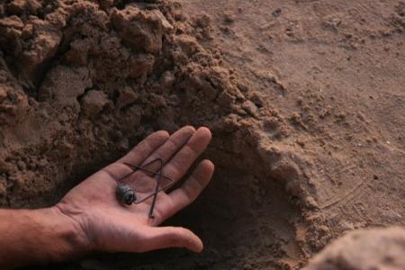 burying the scarab