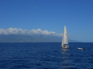 Sailing to Tahiti
