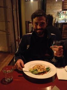 Trevally fish dinner in Hobart