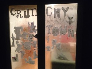 Crunchytown, decorated for a @Where the Wild Things Are@ party