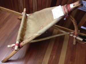 I also saw a version of the old bushie chair in the Wondai Timber Museum before I started the bike tour